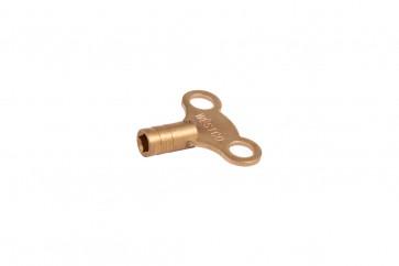 Radiator Key Clock Type - Brass