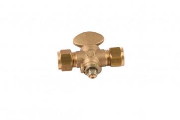 Compression Rigid Fan Gas Valve 22mm
