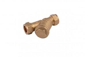 Y FIlter - Brass 22mm