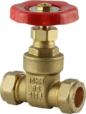Gatevalve Short BS5154 - Brass