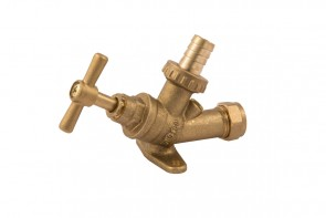 Backplate Bib Tap With Double Check Valve
