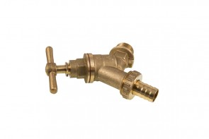 Bib Tap Complete With Double Check Valve - DZR 1/2