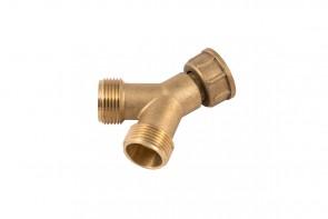 Brass Y Piece