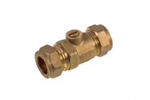 Heavy C X C Isolating Valve - Brass