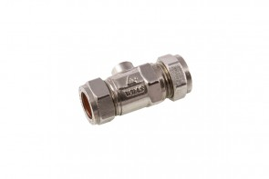 Heavy Isolating Valve - Chrome