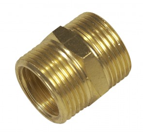 Washing Machine Inlet Hose Connector - Brass