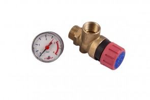 867 Safety Valve & Gauge