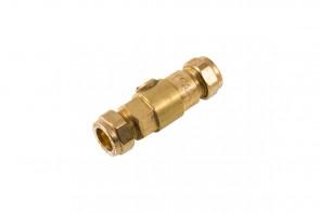 Double Check Valve - DZR/brass 15mm