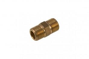 Brass Hexagon Nipple 1 1/4