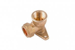 Compression Wallplate Elbow
