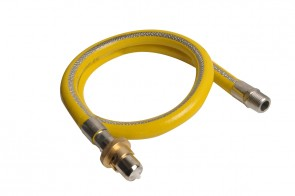Stainless Steel Bayonet Cooker Hose 1m