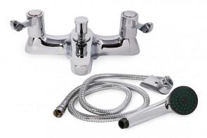 Westflow Lever Action Bath/shower MIxer & Kit