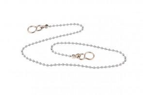 Ball Chain & S Hooks - Chrome