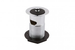 Basin Waste Slotted - Captive Plug