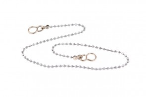 Ball Chain & S Hook - Chrome