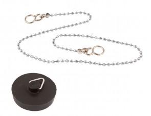 Black Plug & 18in Chain