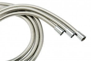 Cone Hose - Chrome