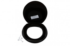 Emerald Bs Toilet Seat - Black