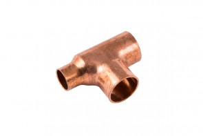 Reduced End Tee 22 x 15 x 22mm