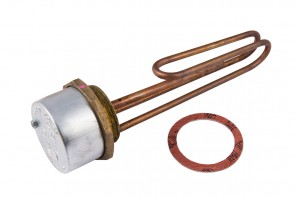 Copper Immersion Heater & Thermostat 11