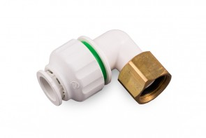 Bent Brass Tap Connector