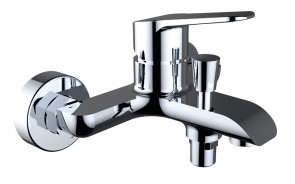 Elegance Wall Bath Shower MIxer & Kit