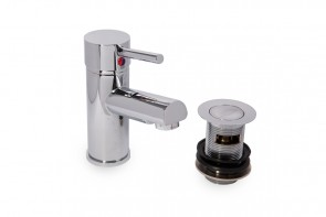 Lapis Mono Basin MIxer Complete With Click Waste